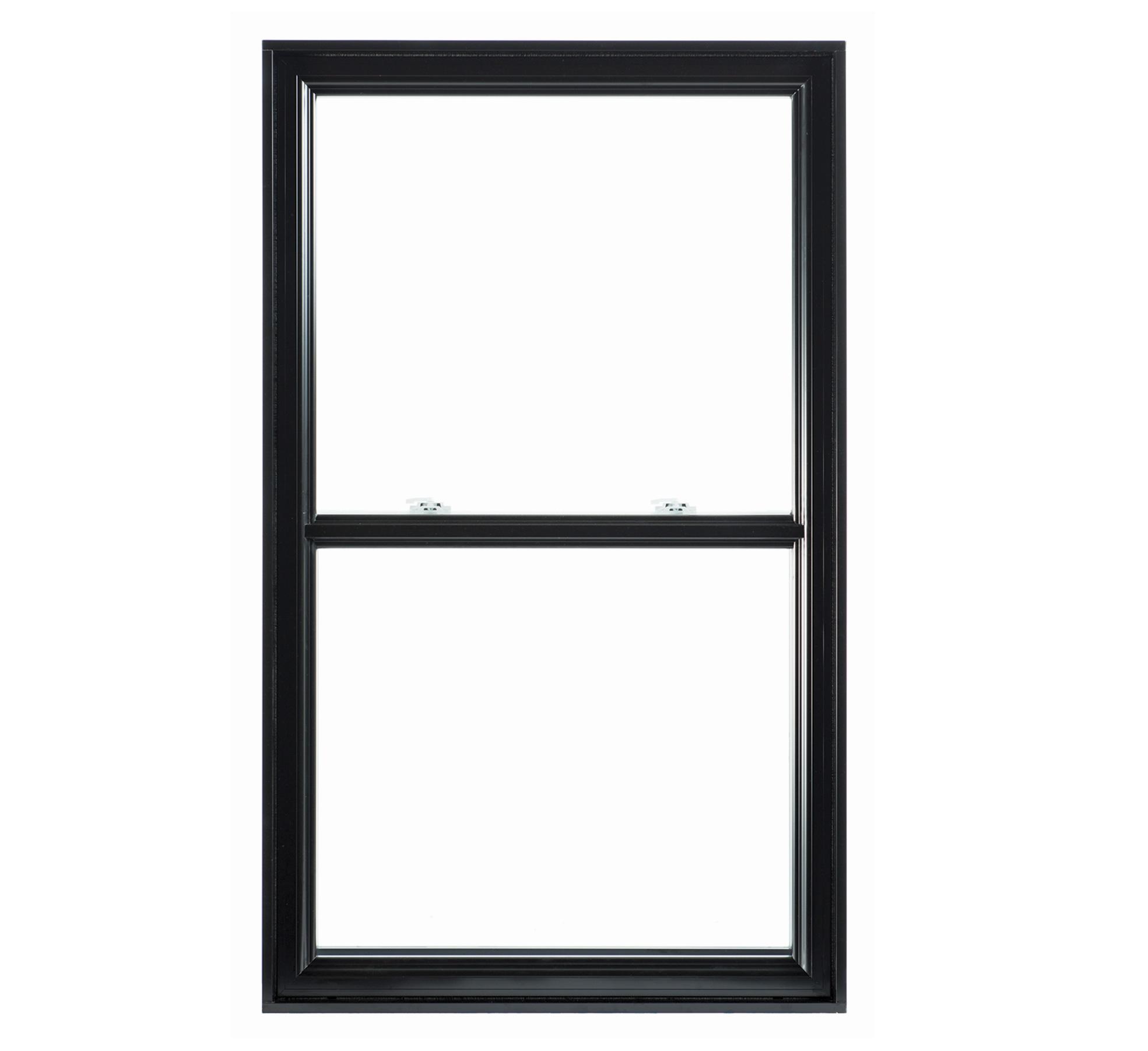Fenêtre à Guillotine Hybride En Aluminium à Volet Simple Ou Double