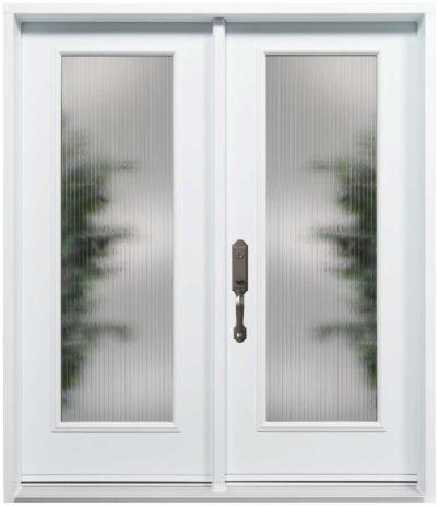 Porte Acier Création Verre Sélect Linea Blanc