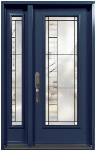 Porte Acier Verre Select Endrick Bleu