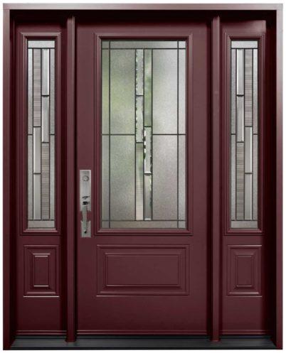 Porte Acier Verre Select Whistler Bourgogne